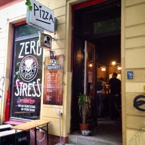 Zero Stress pizza