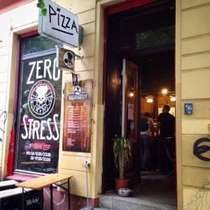 Zero Stress pizza